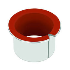 Red PTFE Inch Dimensi Thrust Washer Bushings Metric Slding Bearings pemasok