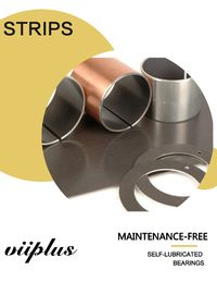 Slide Paths PAS Bronze Bushing Bahan Metric Sleeve Bearings Strips Plat pemasok