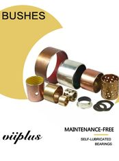 Cina Garlock Bearing Metal - Polymer Bearings |  Silinder Thrust Bushing Tin / Copper Plating pabrik