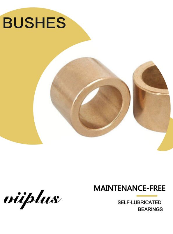 CuSn10 & CuSn6Pb6Zn3 (Qsn6-6-3) Sintered Flange Bentuk Blower Fan Cast Bronze Bushings SAE 841 630 663 Bronze pemasok