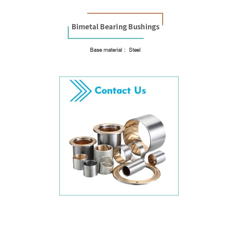 Bahan Baja Sintered Bushing Bronze Powder Atau Rolled Aluminium Tin Alloy