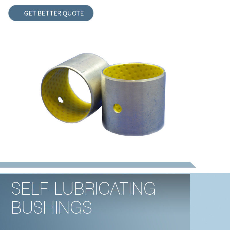 POM Bushes Self Lubricating Plain Bearing Split Type Ukuran Standar