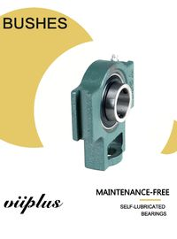 Cina Pilllow Block Sliding Bearing Unit Bush Bulat Unit Geser Bushing Oilless Komponen Standar pabrik